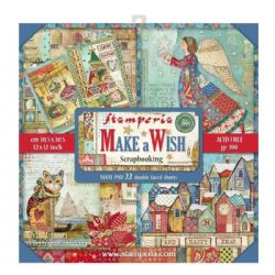 Stamperia - 12 x 12 Inch - Make a Wish Maxi Paper Pack